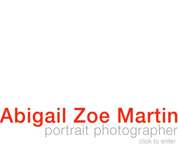 Abigail Zoe Martin - Portrait Photographer